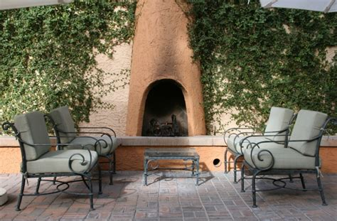 31 patio fireplaces creating outdoor living room spaces