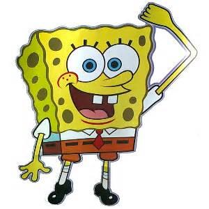 large spongebob square pants wall sticker lg321 spongebob spongebob big wall stickers look choose from 4 styles