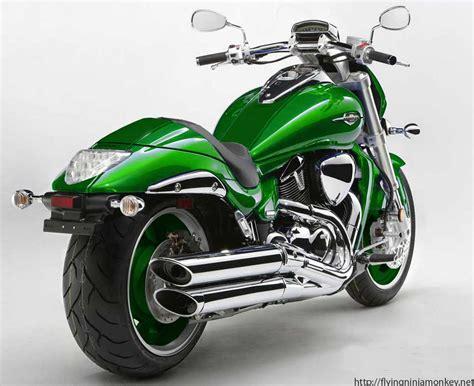 Suzuki Green Suzuki M109r Green On Green Rear
