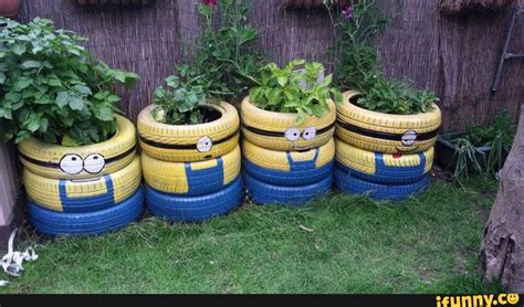 Tire Planters Garden by Recycled Tires Paul S Scrap Car Removal
