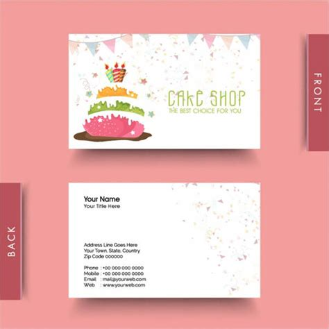 Business Birthday Card Template by Business Card Designs Free Premium Templates