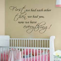 Nursery Wall Sticker Quotes Quotes About Babies Kids And Grandmothers