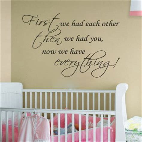 Wall Decals Quotes For Nursery Mural For Nursery Wall Themes And Diy Ideas