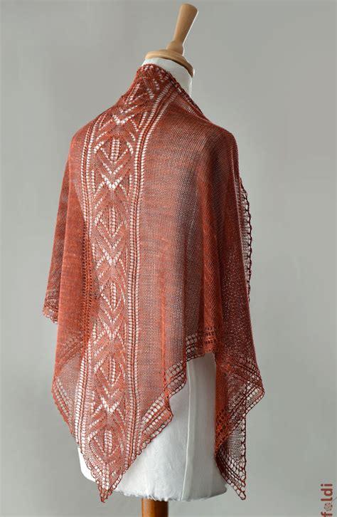 triangle pattern knit scarf foldi firebird triangle scarf