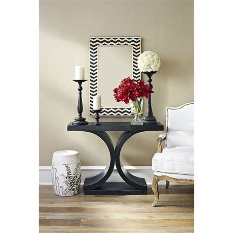 Contemporary Entryway Table Side Table Changing My Marbles