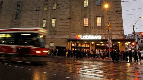 new loblaws unveiled at maple leaf gardens the puck drops on the new loblaws store the globe and mail