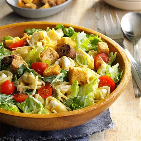 tortellini caesar salad recipe taste of home