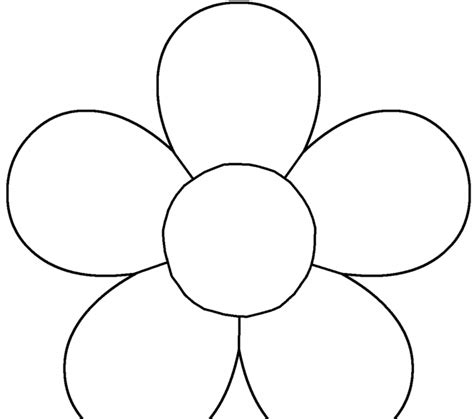 basic flower template pictures to pin on pinterest pinsdaddy