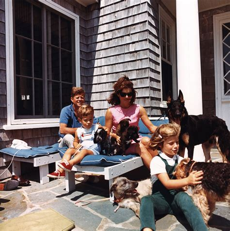 john f kennedy jr children the kennedy family and family dogs 14 august 1963 john