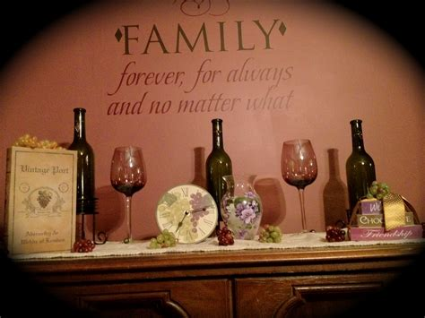 wine theme decor pinterest