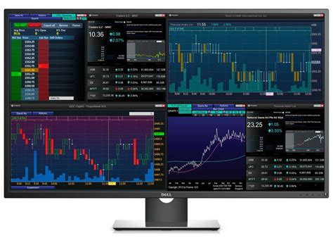 best dell monitors dell p4317q is four monitors in one cnet