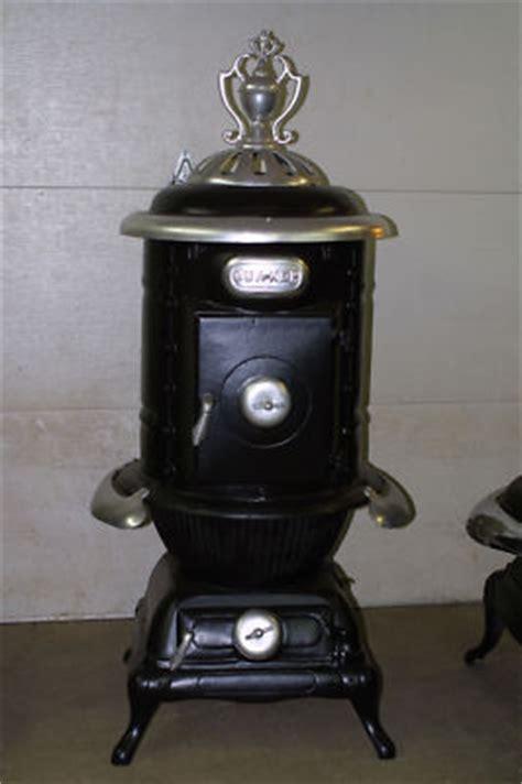 comfort pot belly stove antique cast iron quacker parlor stove wood pot belly