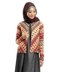 Baju Muslim Batik Rompi 20 Model Baju Muslim Rompi Panjang Modern Terbaru 2017