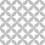 design batik kawung modern batik motif decoration stock illustration image