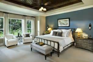 How To Paint Tray Ceilings 25 Beautiful Bedrooms With Accent Walls