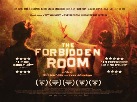 the forbidden room maddin and evan johnson s the forbidden room cinema temple
