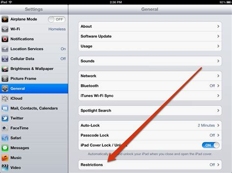 how to pad an how to setup parental controls restrictions on the insight