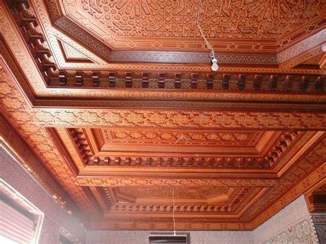 Les Plafond by Les Meilleurs Plafonds Marocains En Bois Plafond Platre