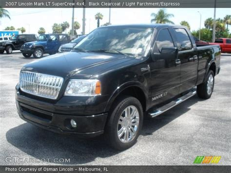 old car manuals online 2007 lincoln mark lt electronic toll collection black clearcoat 2007 lincoln mark lt supercrew 4x4 light parchment espresso interior
