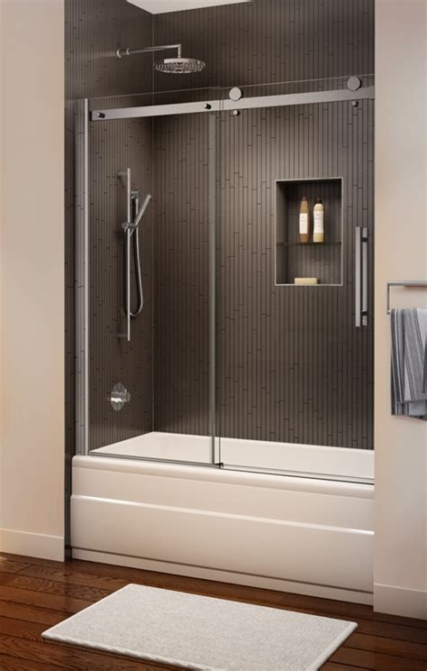 Bathtub Sliding Door by Novara Frameless Sliding Tub Enclosure Artistcraft