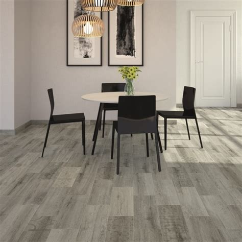 Dining Room Tile Kivu Wood Look Tiles Grey 163 11 65 Per Sq M Contemporary Dining Room Wales By Direct