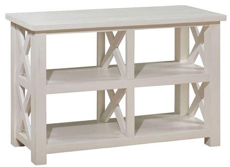 pine sofa madaket reclaimed pine sofa media table from jofran