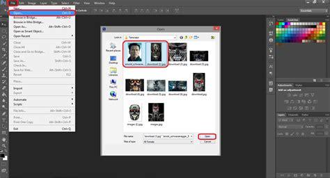 membuat watermark di photoshop cs6 membuat terminator dengan photoshop cs6 belajar photoshop