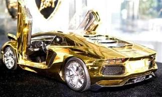 Solid Gold Lamborghini Best Rydyz The Most Expensive Pimped Out Cars