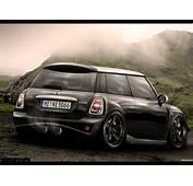 Mini Cooper S Black Car