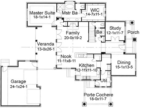 porte cochere plans prairie style home with porte cochere 16817wg 1st floor master suite butler walk in pantry