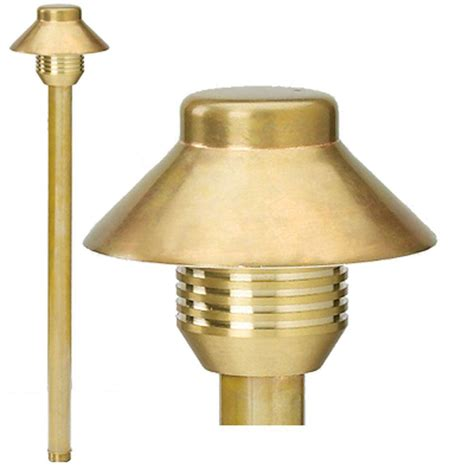 Copper Outdoor Light Best Quality Lighting 1 Light Led Copper Landscape Lighting Path Light Cli Bqlv60co The Home Depot