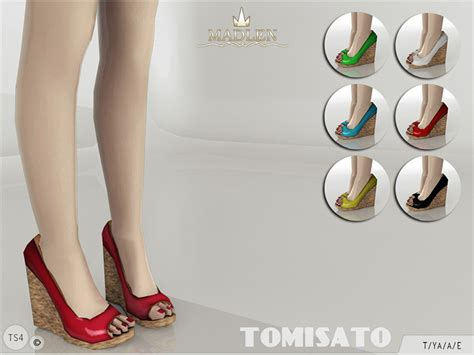 sims 4 shoes the sims resource mj95 s madlen tomisato shoes