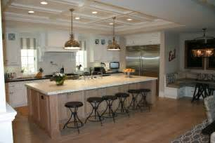 Kitchen Islands With Seating And Storage Large Island With Seating Also Additinal Storage
