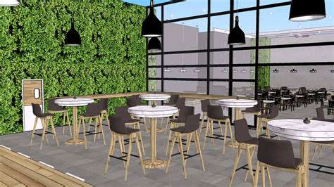 house 3d model glenridge hall part 1 youtube bamboo terrace juice bar and eatery sketchup animation