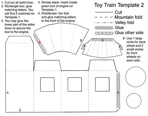 printable paper train template toy train favor template 2 by disdaindespair on deviantart