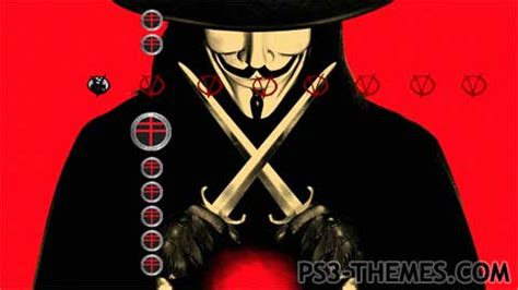 themes in v for vendetta film ps3 themes 187 v for vendetta 2