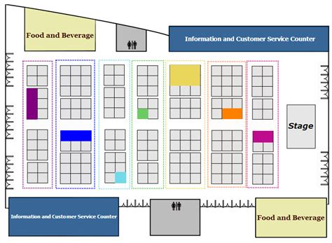 interactive floor plans free interactive floor plan for car exhibition dynamic images