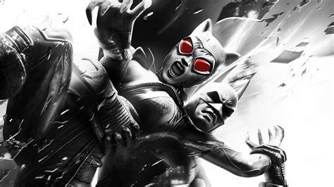 wallpaper batman catwoman batman joker arkham city video games rocksteady studios