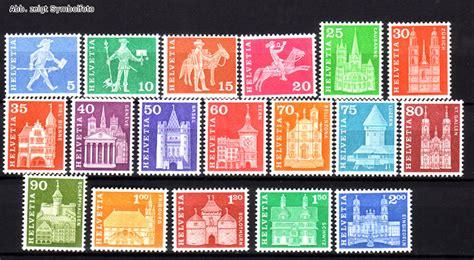 Schweiz Briefmarken Kaufen Briefmarken Schweiz Michel Nr 696 713 X Freimarken 1960 Postfrisch G 252 Nstig Kaufen Im