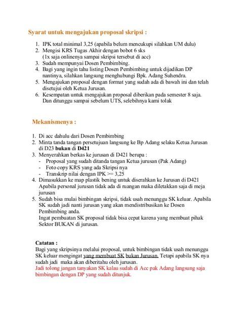 format proposal judul skripsi syarat untuk mengajukan proposal skripsi