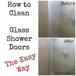 Best Cleaner For Shower Glass Doors Win Glass Shower Door Cleaner Fail