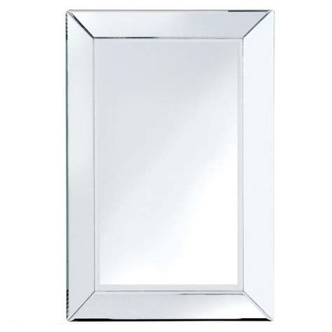 bevelled edge bathroom mirror bevelled edge mirror large