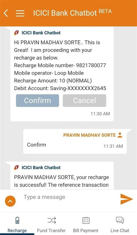 mobile icici bank imobile by icici bank android apps on play