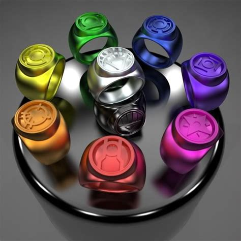 only the white power ring can power all other rings