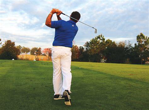 golf swing finish drill 6 step swing golf tips magazine