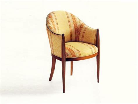 classic upholstered armchair for hotel idfdesign