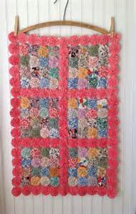 Quilt Wall Hanging by Vintage Yoyo Quilt Wall Hanging