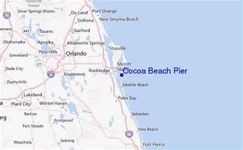 cocoa pier surf forecast and surf reports florida