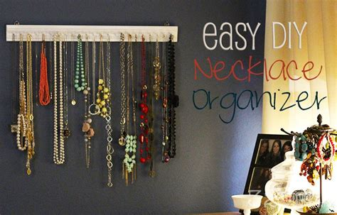 easy diy necklace organizer 32 turns32 turns