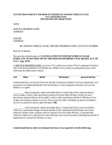 termination letter sle elimination of position termination letter sle rental agreement 28 images